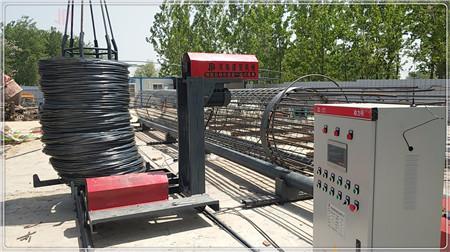 三门峡商家推荐:数控钢筋笼绕筋机安装标准和要求