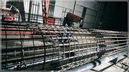 常德原创钢筋笼滚笼机安装标准和要求